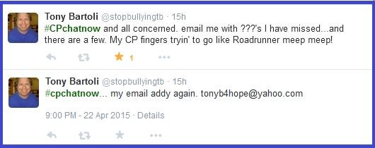 Email Tony Bartoli