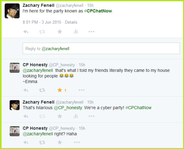 CPChatNow is a cyber party