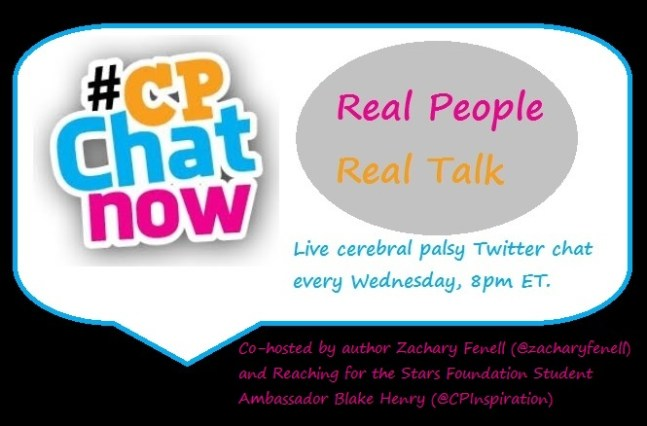 Real people, real talk! The live Twitter chat CPChatNow takes place every Wednesday 8pm ET.