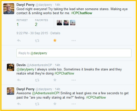 Daryl's advice to handle stares