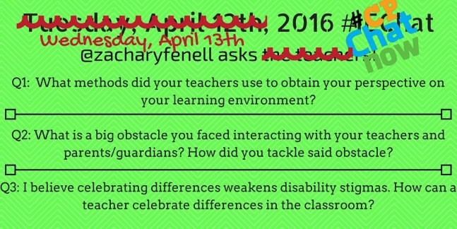 I re-word my #iechat questions so #CPChatNow participants can answer.