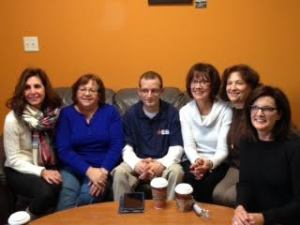 A local book club invites me to join them after reading my memoir Off Balanced for their monthly meeting.