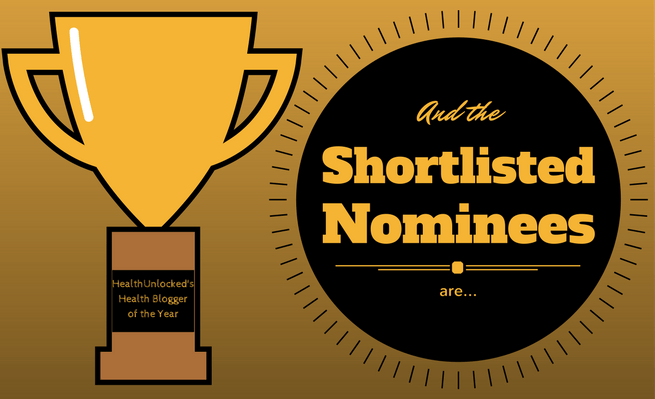 From the many blogs nominated Zachary Fenell made the shortlist cut and remains in the running to become HealthUnlocked's Health Blogger of the Year.