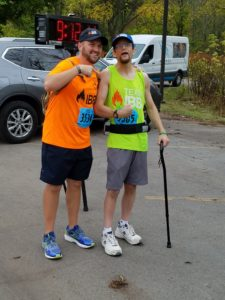 During James and mine near half day trek to complete the Towpath Marathon, we both learned valuable lessons about lending a helping hand.