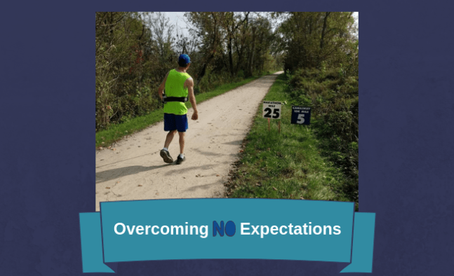 Zachary Fenell tells how he overcame no expectations to fulfill his potential as a marathoner.