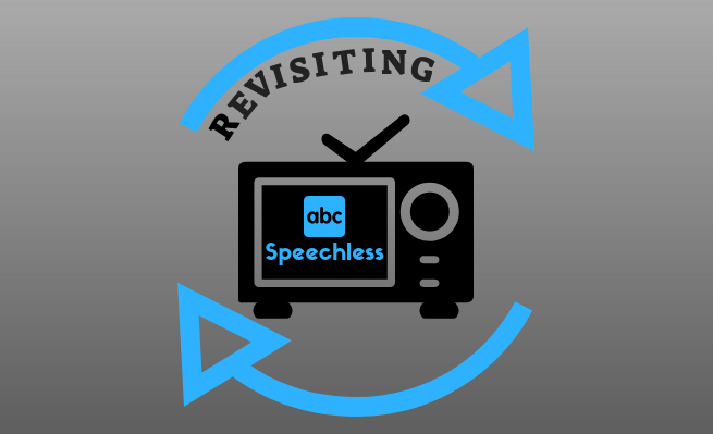 """After not mentioning ABC Speechless since season 1, episode 20 """"R-U-N-- RUNAWAY,"""" Zachary takes a moment to revisit the series."""