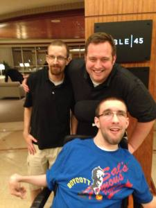My relationship with Handicap This Productions began when I interviewed the duo for a story.