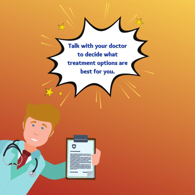 A doctor will help you determine what treatment options are best for your upper limb spasticity.