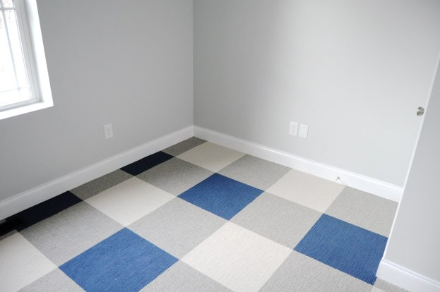 DIY Carpet Tile with Peel-And-Stick