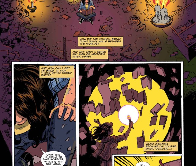 Amelia Cole And The Impossible Fate Issue  Written By Adam