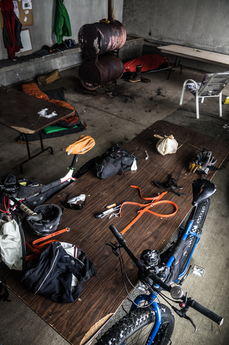Gear Explosions in the Warming Hut
