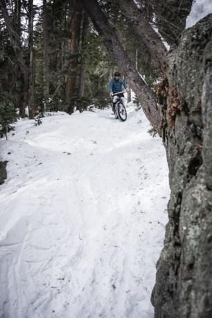 Dave-o on the snow