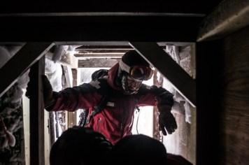 Trevor In the Alpine Bomb-Cache