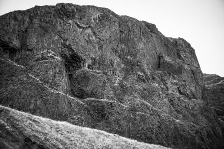 Amazing Basalt Rock Formations Along Devils Canyon Rd.