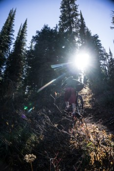 Hike-a-Biking is Essential on this Route