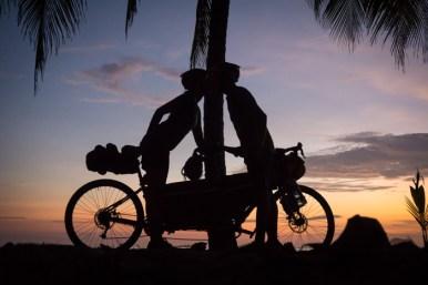 Sunset on Playa Carillo