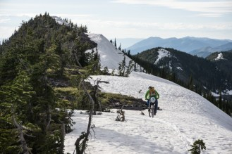 Snow Riding in June?