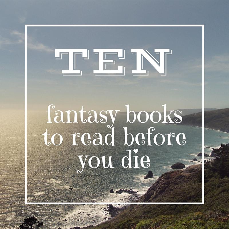 10 fantasy books graphic
