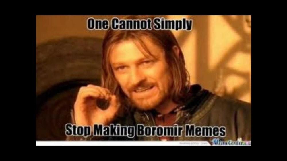 Boromir Meme Favorite