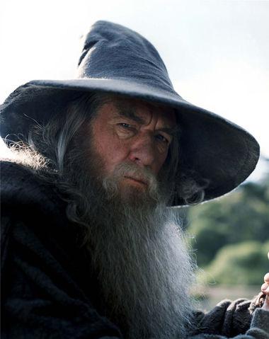 Gandalf Scowling