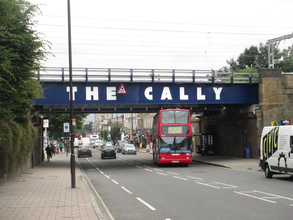 Bridge over Caledonian Road