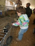 Milly Dotsey at the 2010 Cape Fear Fair and Expo with ducks