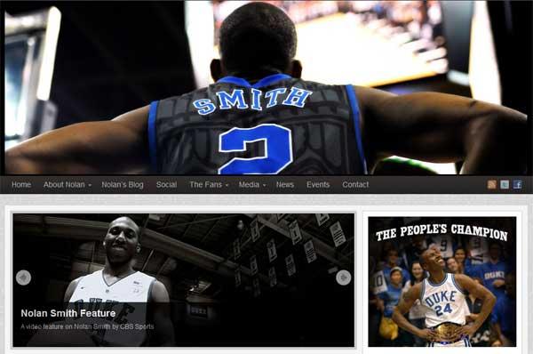 The OFFICIAL Nolan Smith Website.