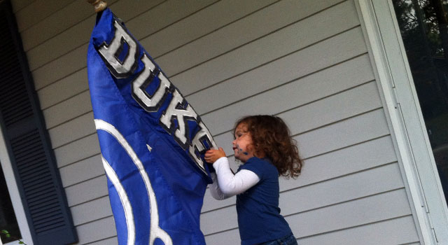 Milly and the Duke Flag