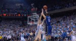 Austin Rivers hit buzzer beater over Tyler Zeller at the Dean Dome - Duke vs. UNC