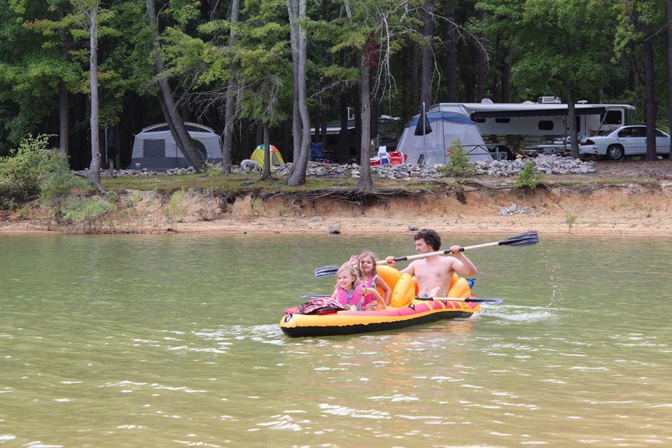 Kerr Lake Trip: Saturday