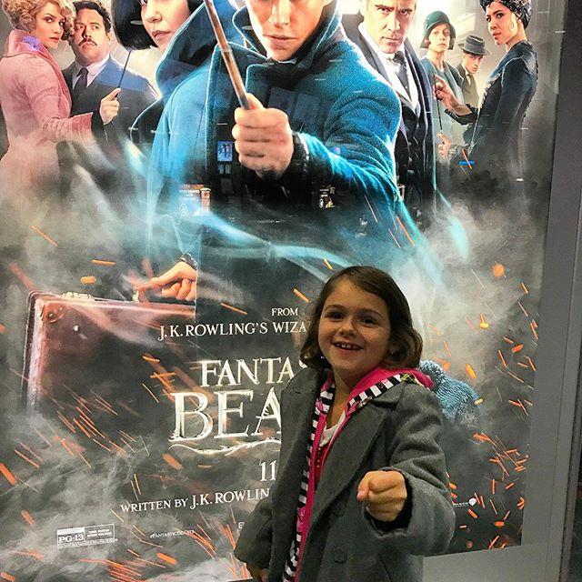 Movie time! #Meliamae #fantasticbeasts #HarryPotter