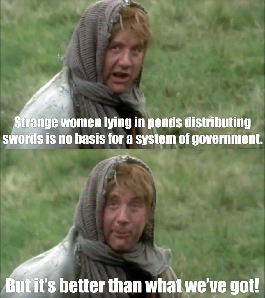 Strange Women Lying in Ponds