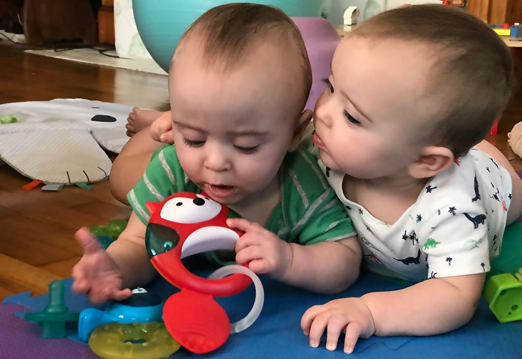 Eight Months of Twinning