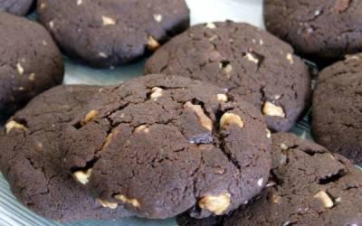 Veganiški šokoladiniai sausainiai