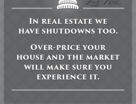 Shutdowns in Real Estate