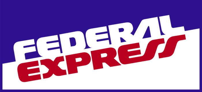 Federal Express - now known as FedEx