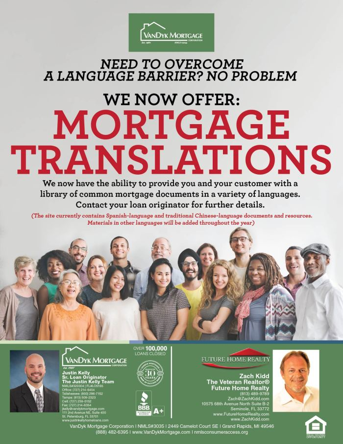 Mortgage Translations Now Available!