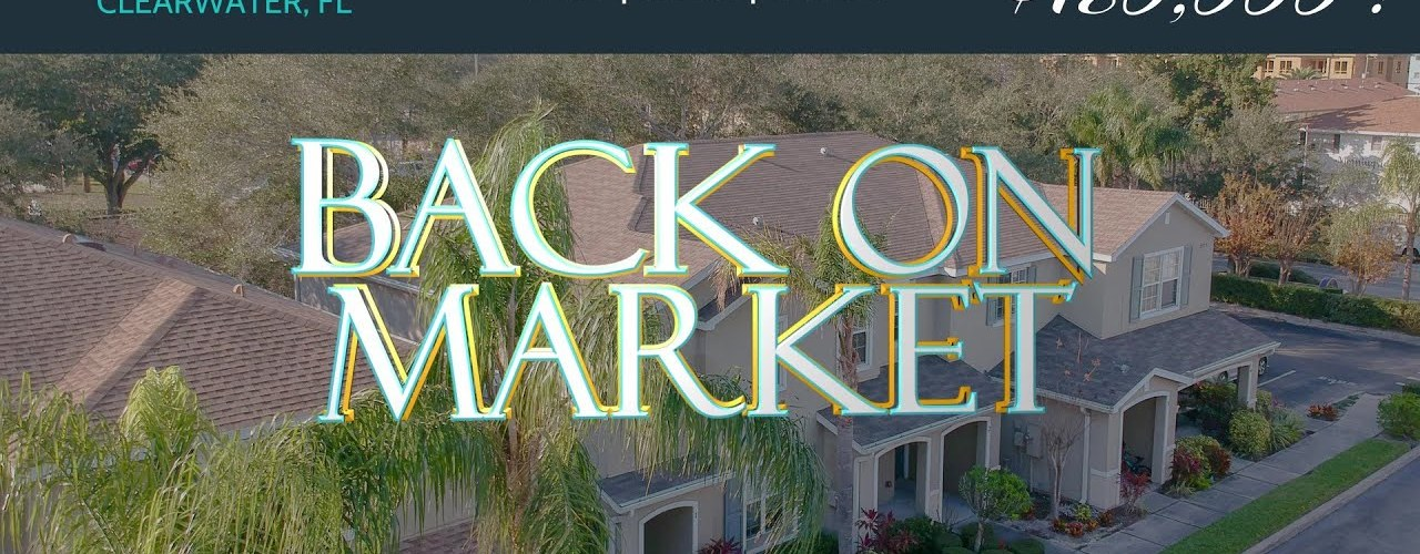 Clearwater FL Townhouse - Back on Market, er, no, Under Contract Again
