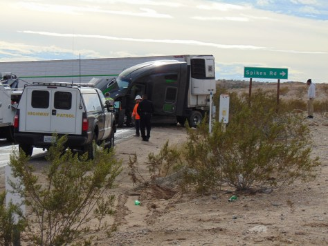 Traffic Update!!: Needles, CA: U S  95 reopens after