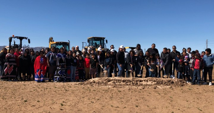 Mohave Valley, AZ: Fort Mojave Indian Tribe held a groundbreaking ceremony for a new convenience store and fuel station.