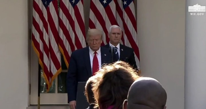 Live News Update: United States of America: President Donald Trump holds a news conference.