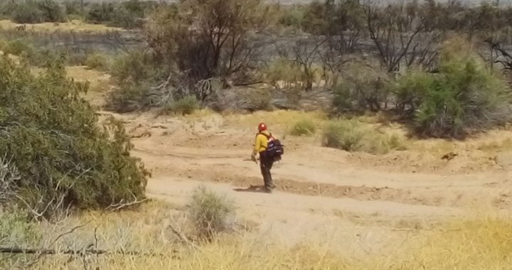 News Update: Mohave Valley, AZ: Dike Fire is 60 percent contained and has burned 150 acres.