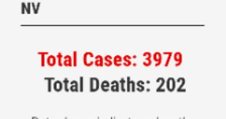 News Update: Clark County, NV: COVID-19 Information; Positive Cases: 3,979 and Deaths: 202.