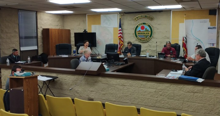 Needles, CA: Summary and voting results from the Needles City Council Meeting.