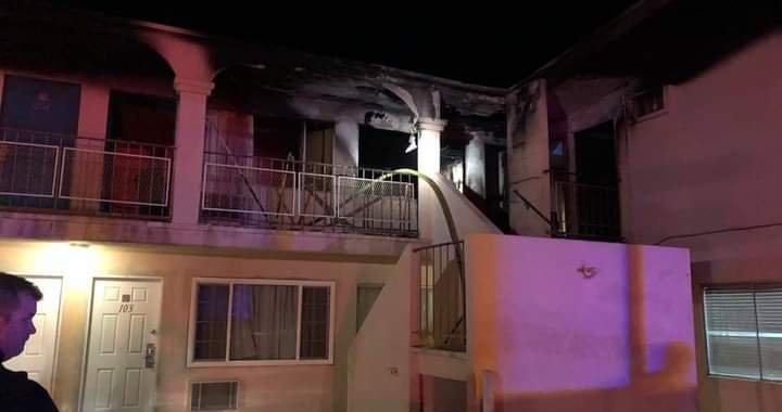 Downtown Needles, CA: Detectives arrested a man after they determined he intentionally set fire to the Imperial 400 Motel.