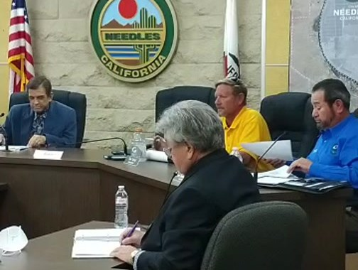 Needles, CA: Live Broadcast: Needles City Council, Needles Public Utility Authority and Successor Agency to the Redevelopment Agency Meeting.