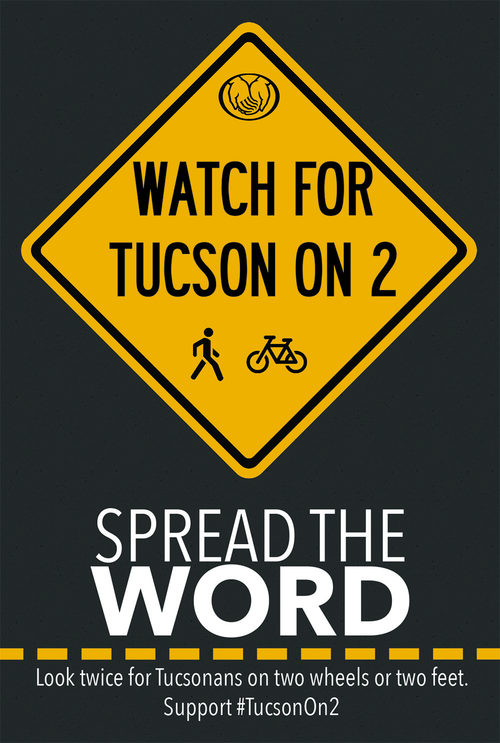 Tucson on 2 Window Cling