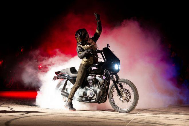 smoke bike shoot