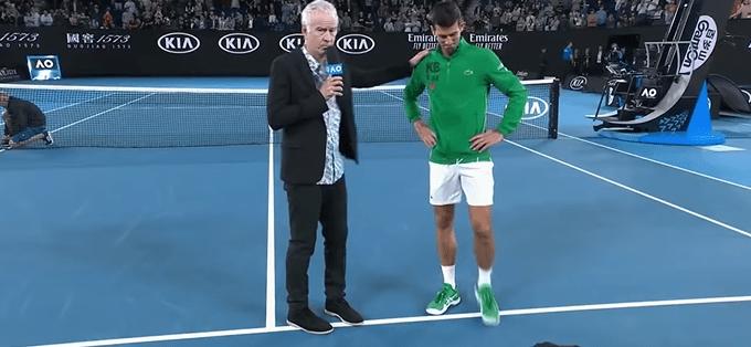 Watch as Novak Djokovic sheds tears in emotional tribute to Kobe Bryant [VIDEO] – Citi Sports Online