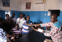 Polling Station executives pick forms for Oppong Nkrumah